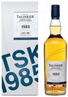 Talisker Scotch Single Malt 1985 Maritime...